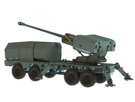 Automatic loaders for howitzers