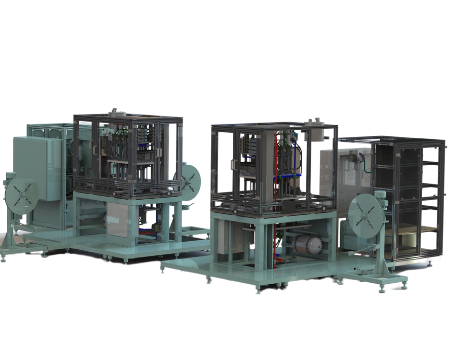 Production equipment for Pyrotechnical retarders