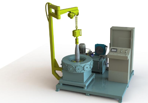 Hydraulic press for Crimping SPS